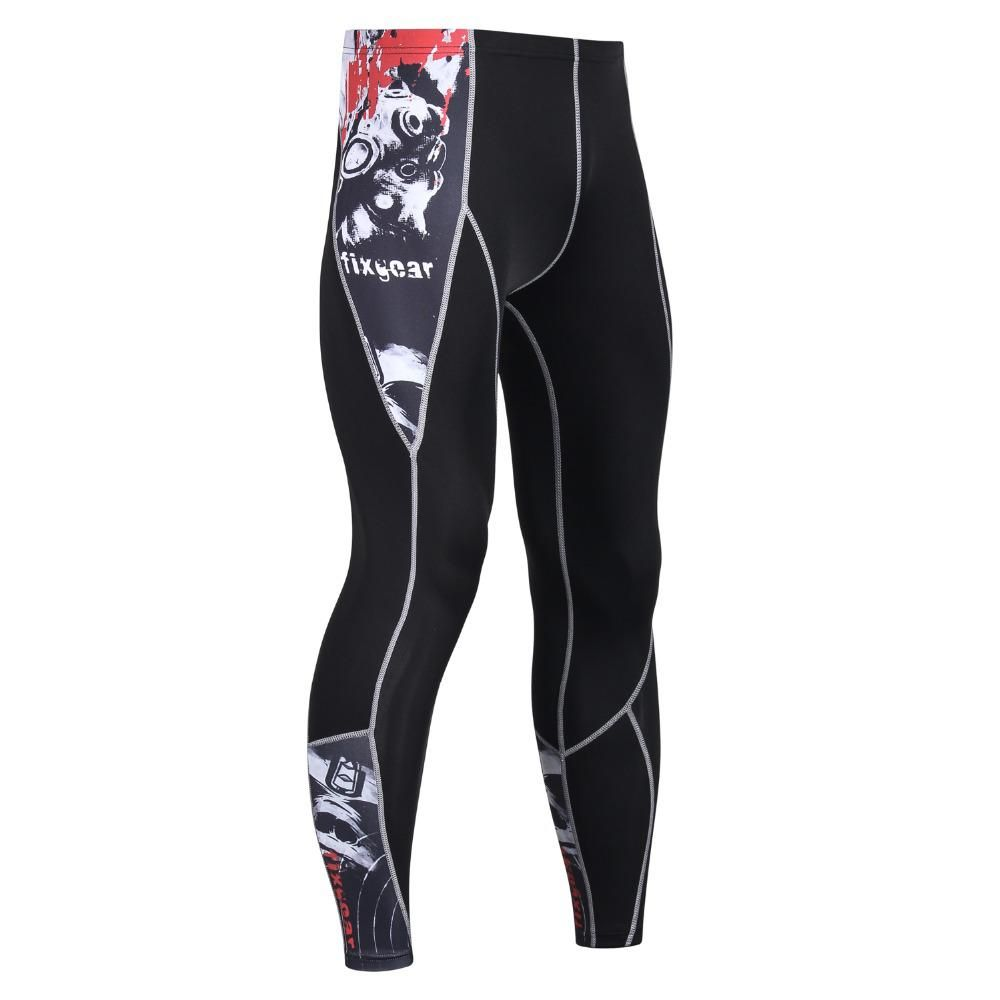29c35283ed6 Mens 3D Compression Pants Tights Bodybuilding Leggings MMA Crossfit Workout  Fitness Sportswear Pants Male Joggers Skinny Pants. Yesterday s price  US   10.21 ...