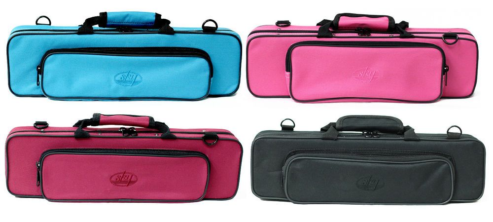 45a5202970f GREAT GIFT  Classic Flute Case. Lightweight Shoulder Strap 8 Colors ...