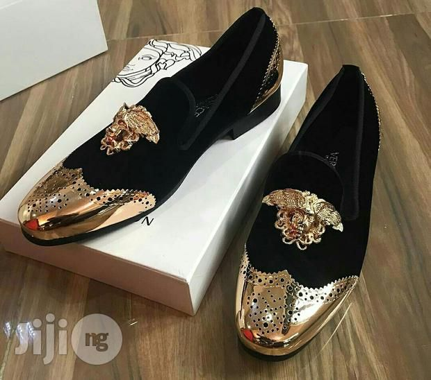 fb6abffcbcd6 Versace Gold Toe Medusa Loafers for sale in Ojo   Buy Shoes from Doraboy  Collections Ilori on Jiji.ng