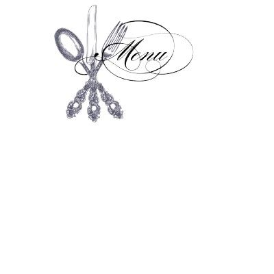 Antique Silverware Personalized Stationery by ONimages