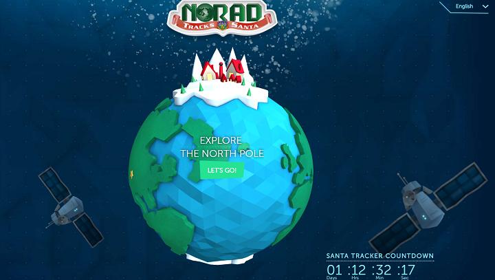 NORAD Santa Tracker 2016 Where is Santa now? Santa