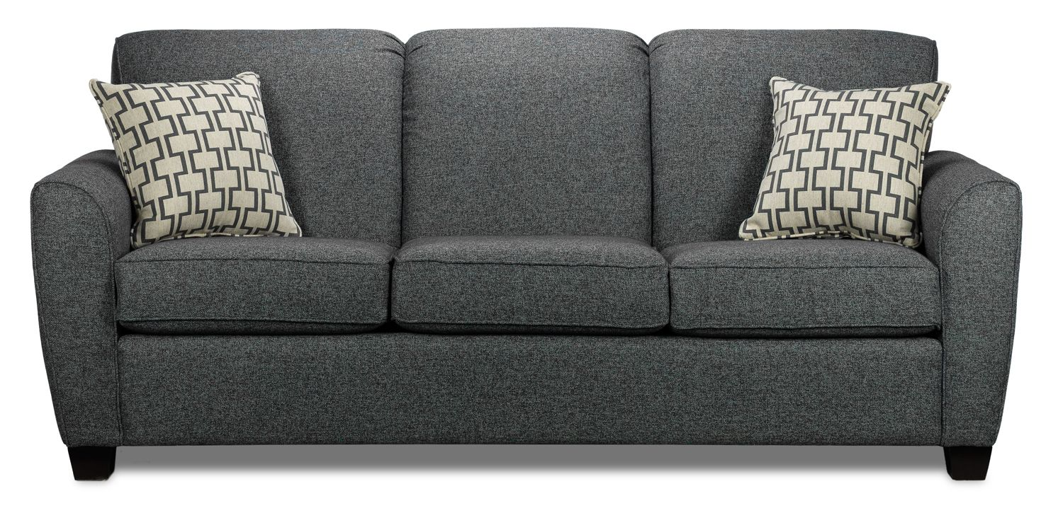 Grey Tweed Sofa