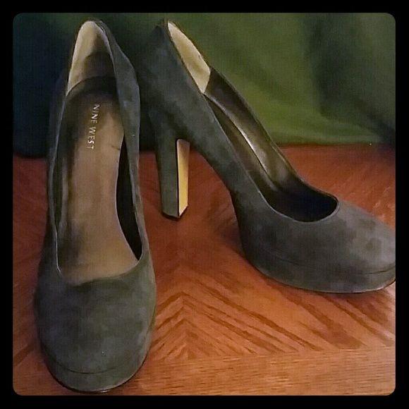 Suede Pumps Great Condition Pumps Nine West Shoes Heels