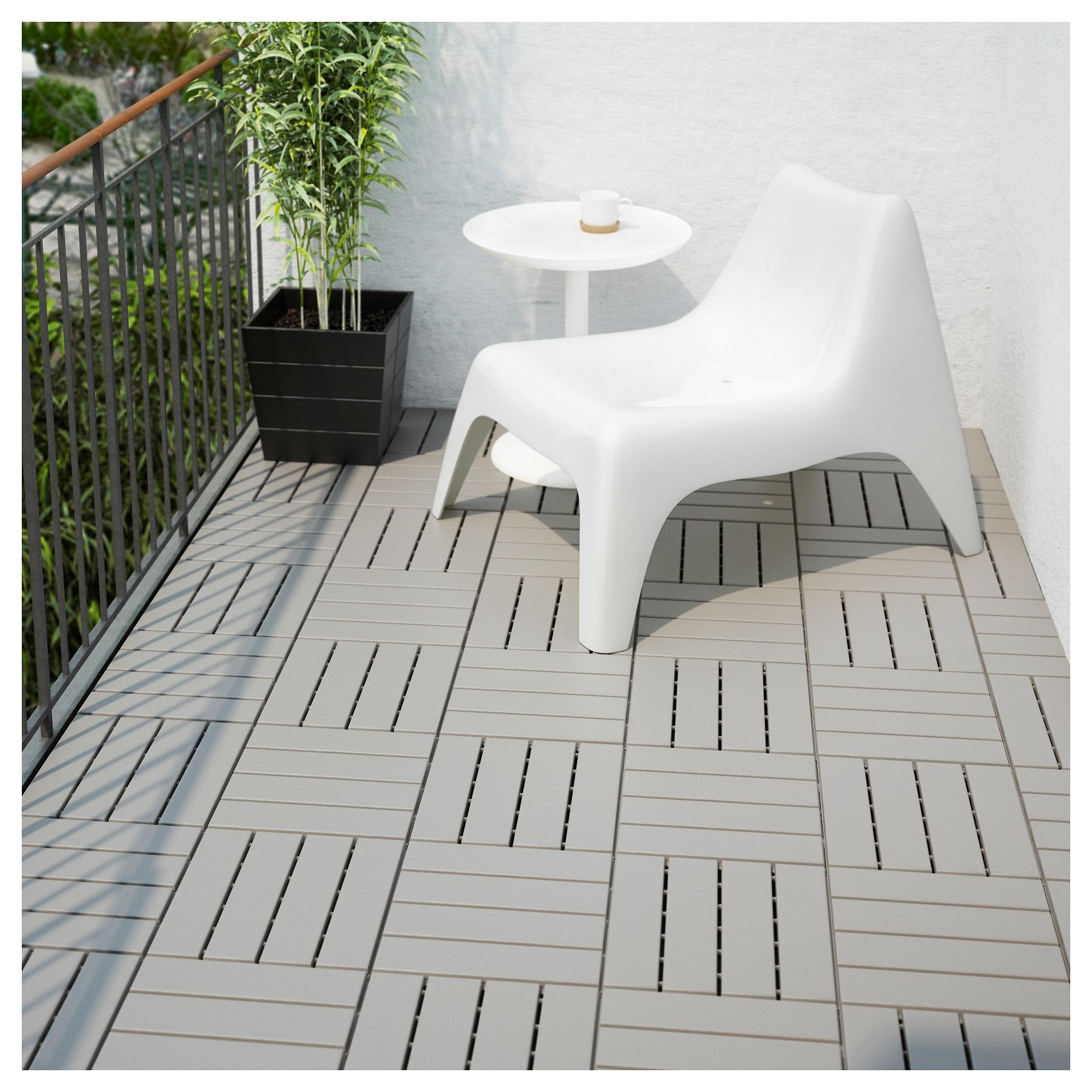 Runnen Floor Decking Outdoor Grey 0 81 M Outdoor Flooring