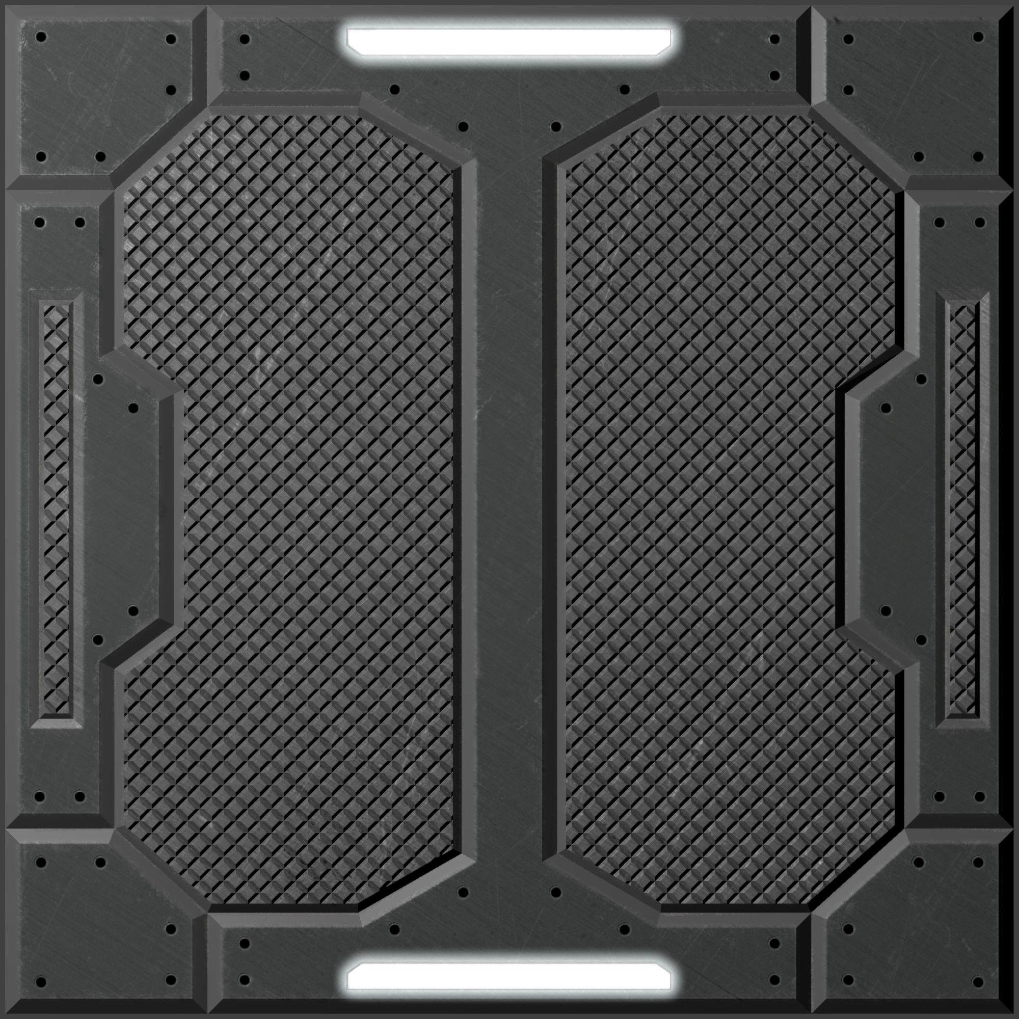 white scifi textures - Google Search | Sci-fi level tiles ...