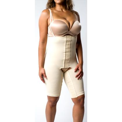8fa4b476f9 High Waist Short Thigh Lift Liposuction Tummy Tuck Beige