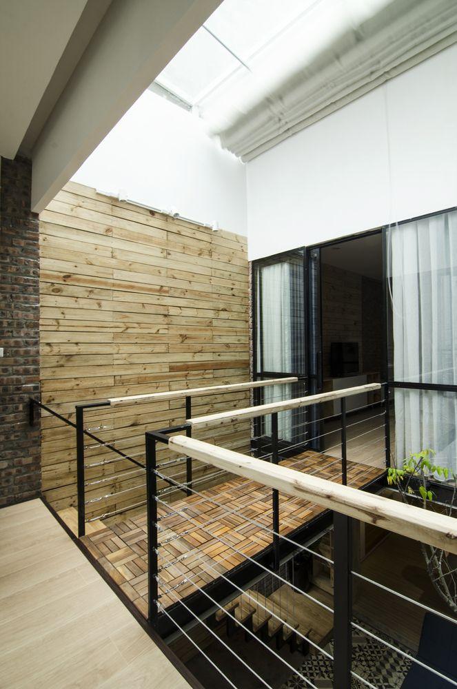 Idea de pequeña casa construida en sólo 46 metros cuadrados, planos ...