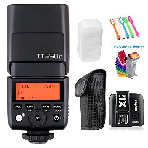 Godox TT350N TTL HSS Wireless Speedlite Flash Light 1//8000s For Nikon Camera