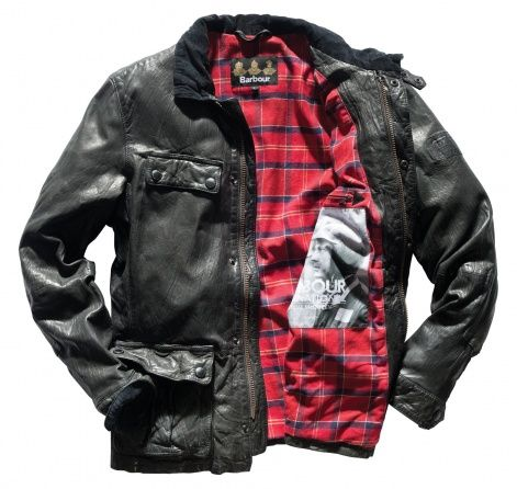 barbour enduro jacket