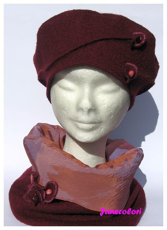 Cappello basco e scaldacollo 8e0f39440e89