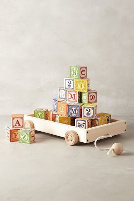 Anthropologie Alphabet Wagon #anthrofave #anthropologie