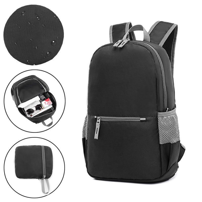2a54e0d028bb Xmund XD-DY3 18L Backpack Outdoor Folding Bag 200g Weight Zip ...