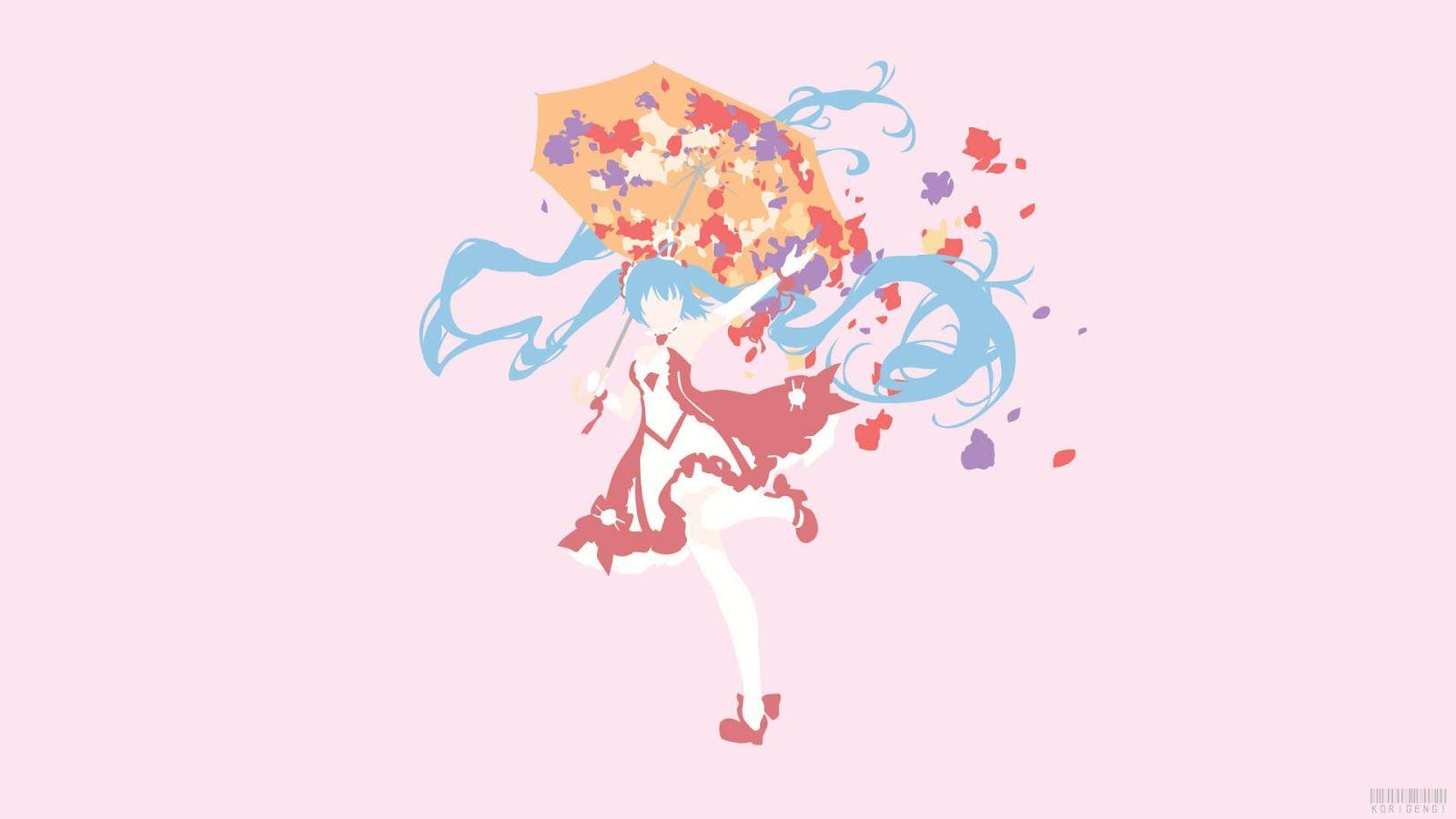 Pc Hatsune Miku Vocaloid Wallpaper Animasi Wallpaper Iphone