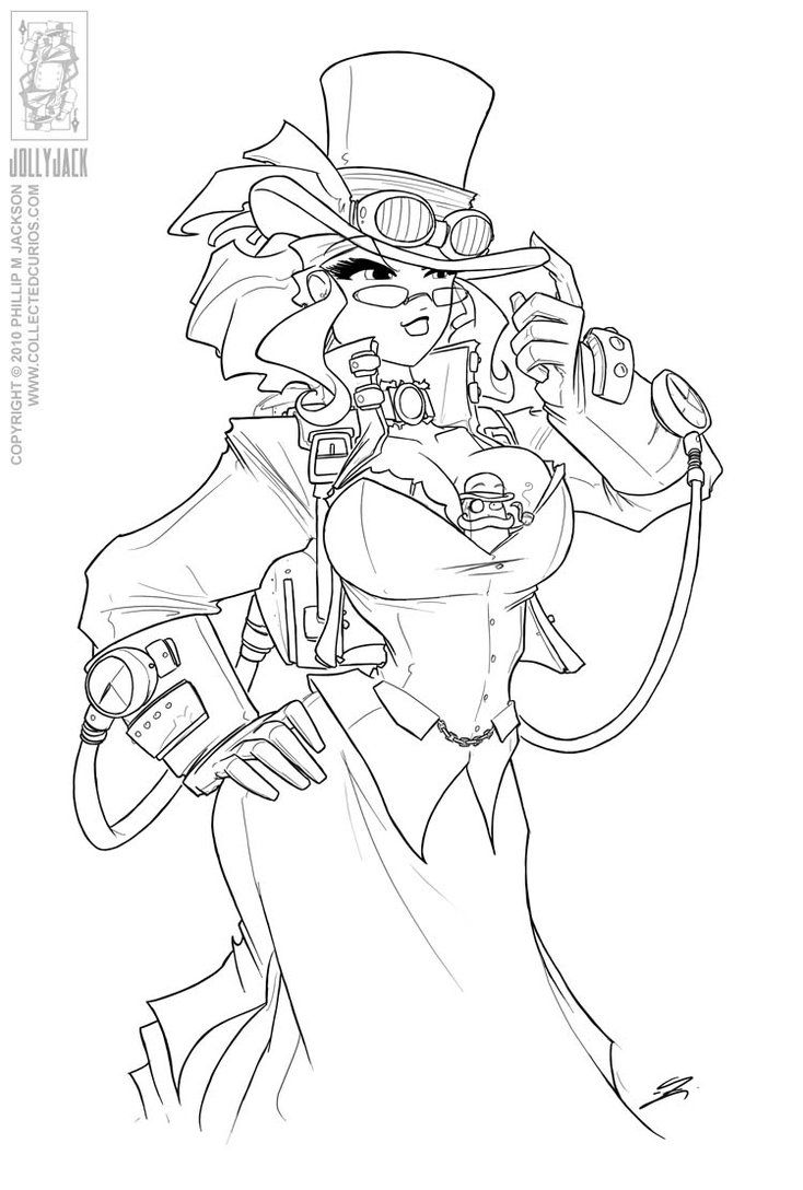 steampunk coloring pages helga colouring pages page 2 coloring