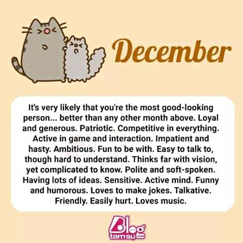 Born in December (With images) | December quotes, Words ...
