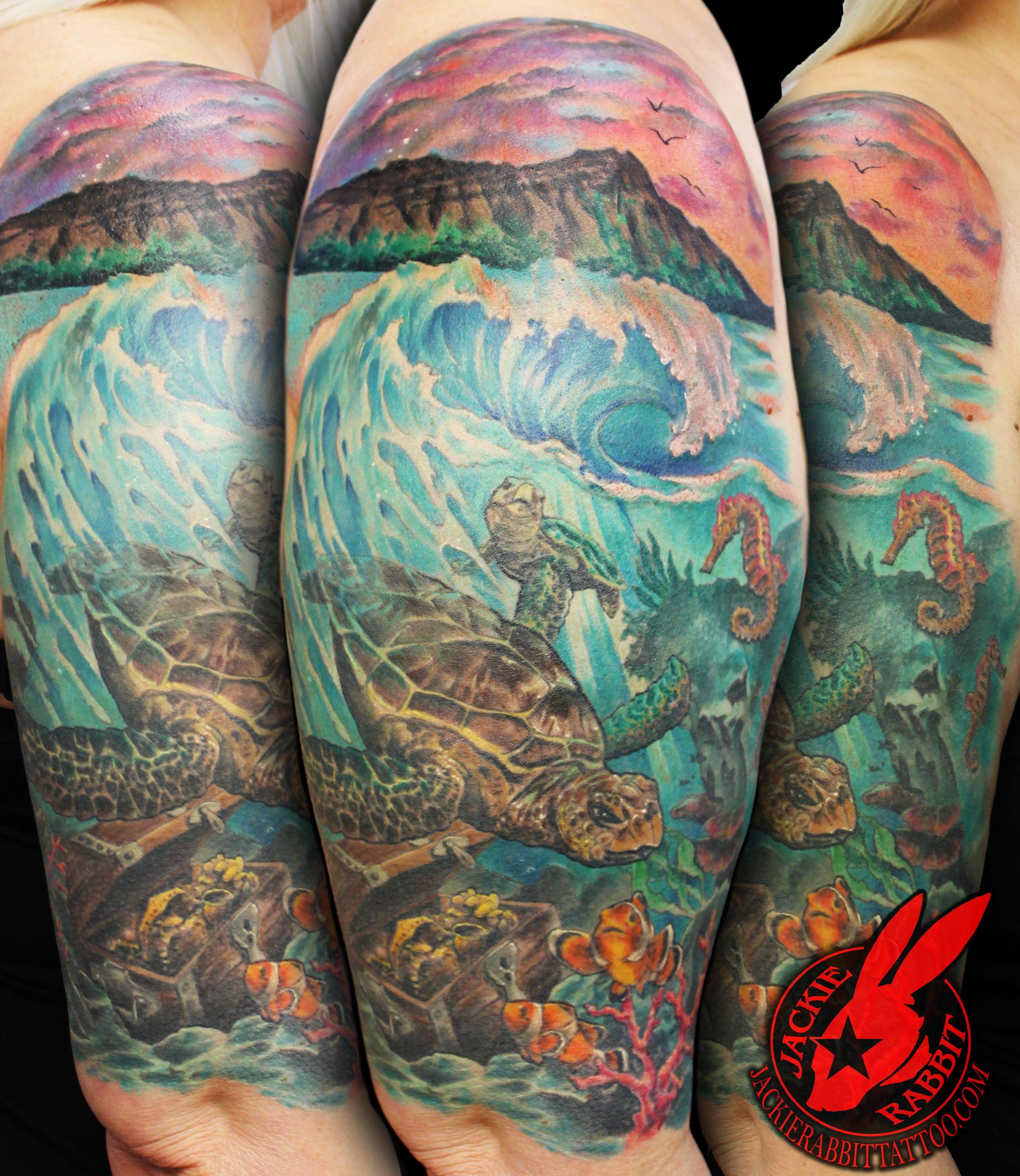 Underwater tattoo | Tattoos | Pinterest | Underwater tattoo ...
