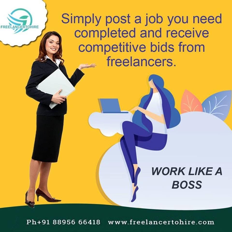 Freelancertohire Top Freelance Websites For Beginners Freelancing Jobs Online Jobs Online Data Entry Jobs