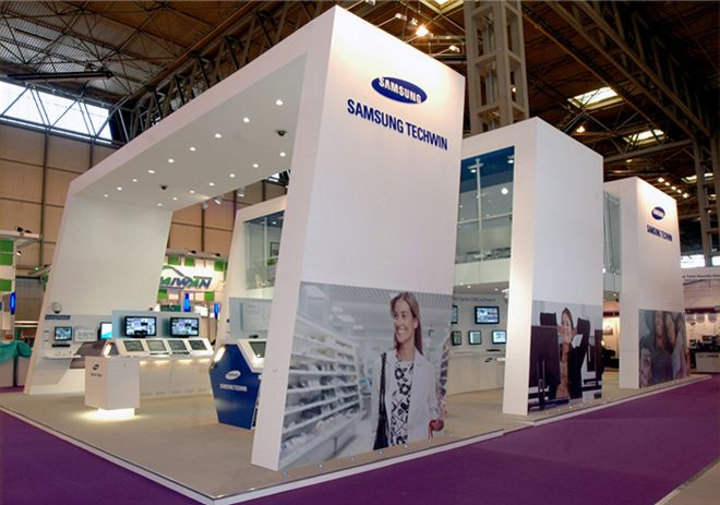 Samsung Exhibition Stand Design : Check out exhibition stand construction service http