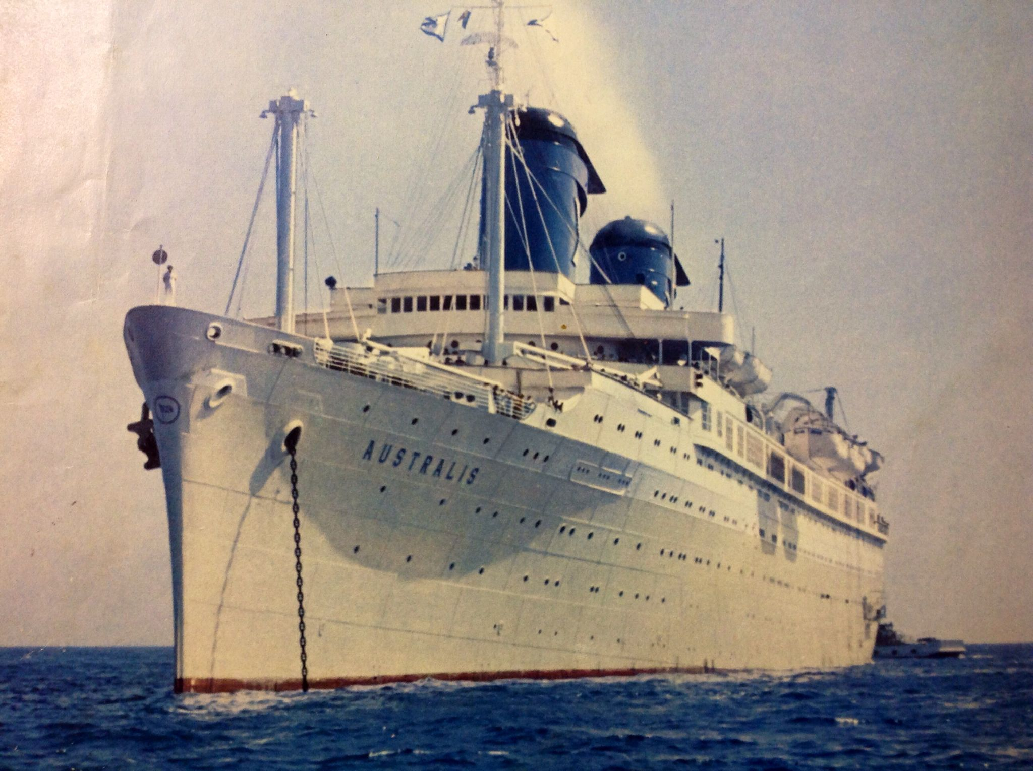 Chandris  Lines Australis the former United States Lines America