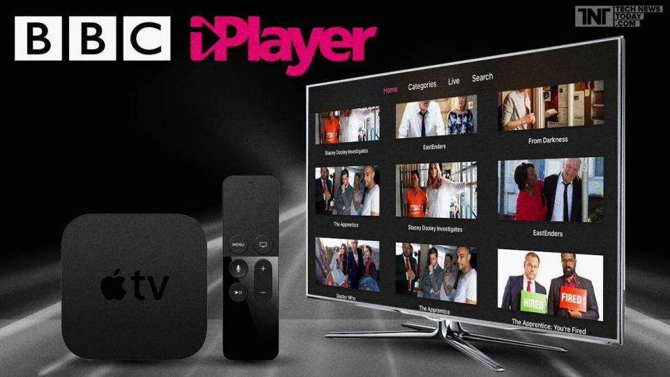 BBC iPlayer Now For UK Apple TV Users Apple tv, Tvs, Apple