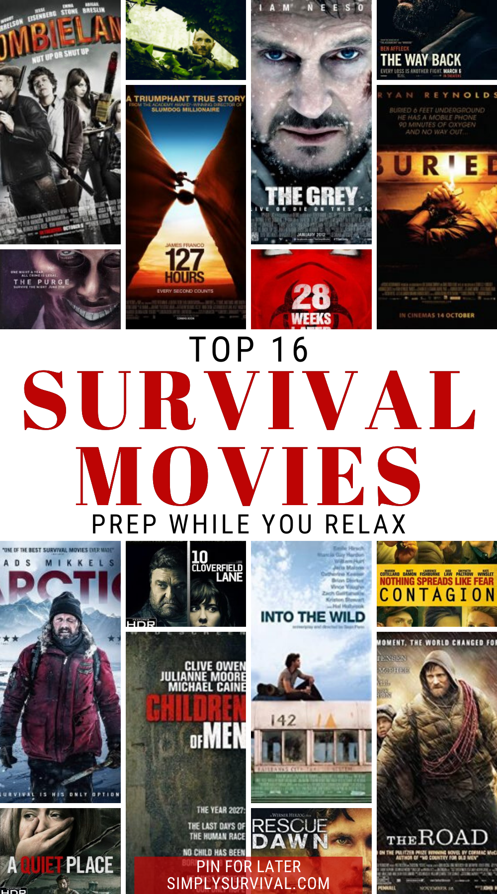 16 Best Survival Movies Of All Time Prep While You Relax In 2021 Survival Movie Survival Books Movies