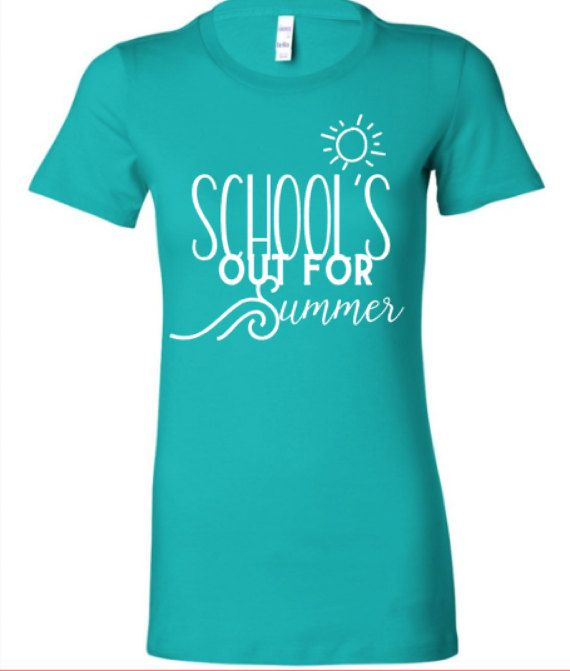 f1f1ca2a1108 End of School Year Shirt School s Out for Summer by RuntCakes ...