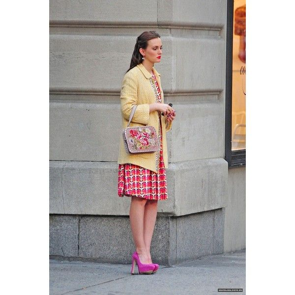 On the set of Gossip Girl Season 6 28th August ❤ liked on Polyvore featuring gossip girl
