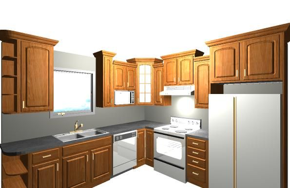 Nice Superb 10x10 Kitchen Layout #8 10 X 10 Kitchen Design Part 31