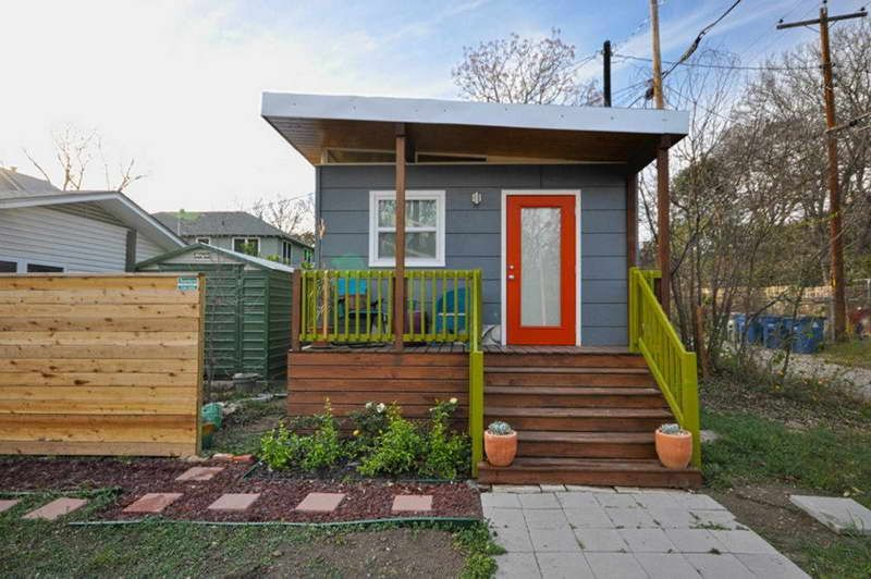 Tiny House Plans Free With Wood Fence