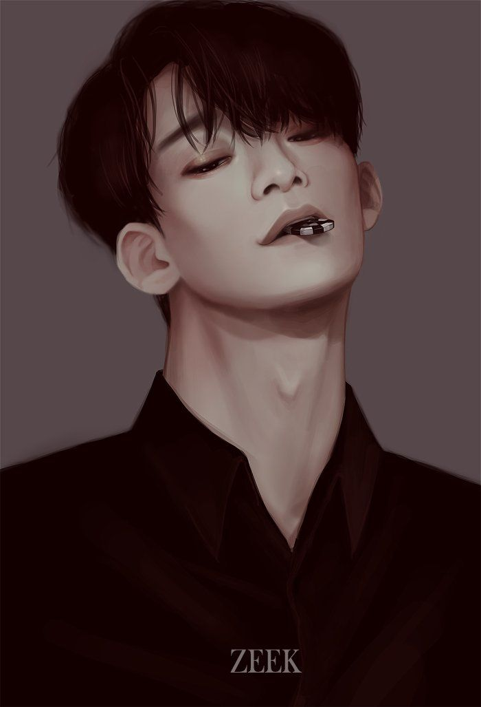 Jongdae Lotto @ZEEK921 E)(o! u003c3 Pinterest Exo, Fanart and Chen