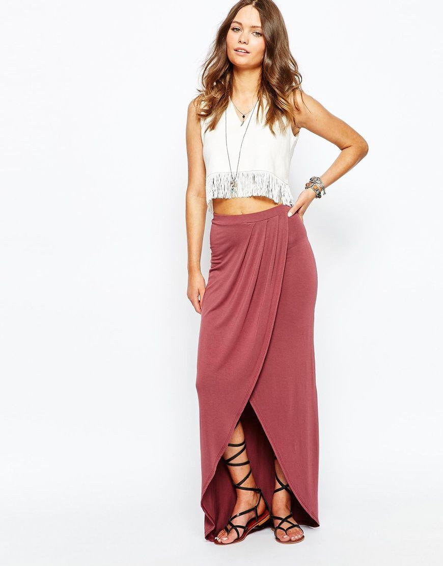 New look split front maxi skirt style pinterest dream closets
