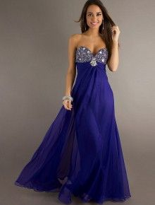 88821d6db87 2013 Style A-line Sweetheart Rhinestone Sleeveless Floor-length Chiffon  Prom Dresses   Evening Dresses (SZ0302099)