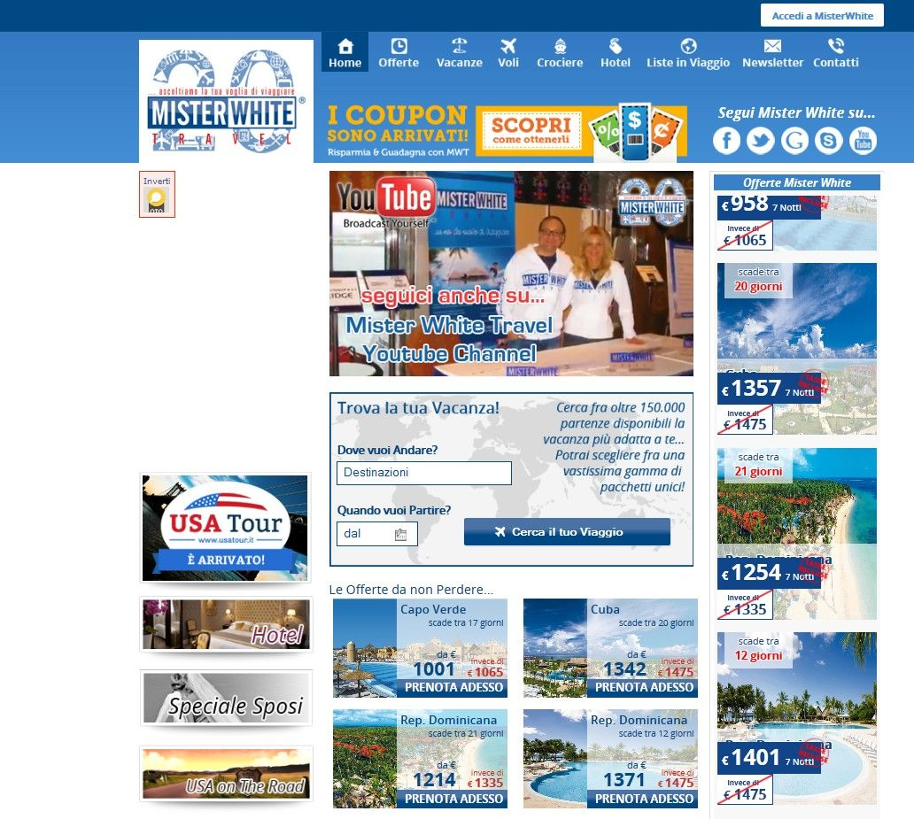 Splendido sito realizzato da OTO!