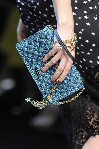 Dolce E Gabbana Pochette Brillante Crochet Bags Borse Fatte All