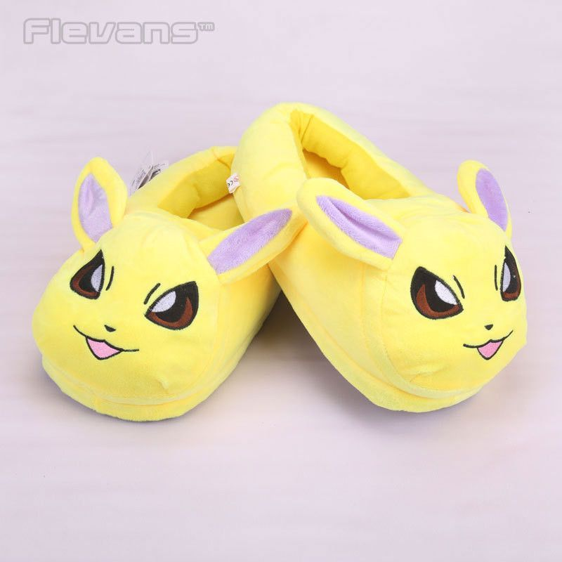 Pokemon Characters Plush Slippers for Kids