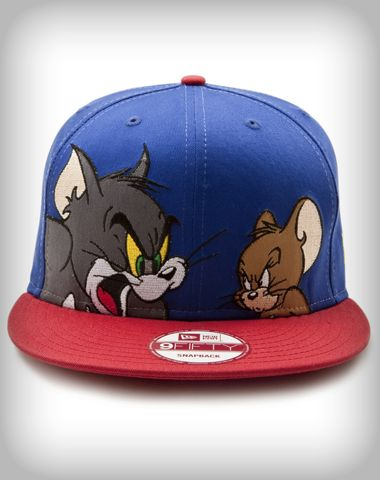 74414caa164 New Era Tom   Jerry Snap Back Flatbill Hat from Spencers Gifts ...