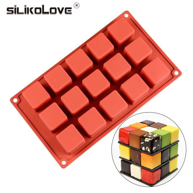 silikolove nouveau 15 cavite cube carre