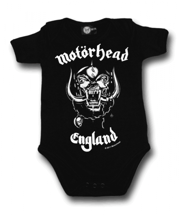 Motorhead Ladies Black T Shirt England Official