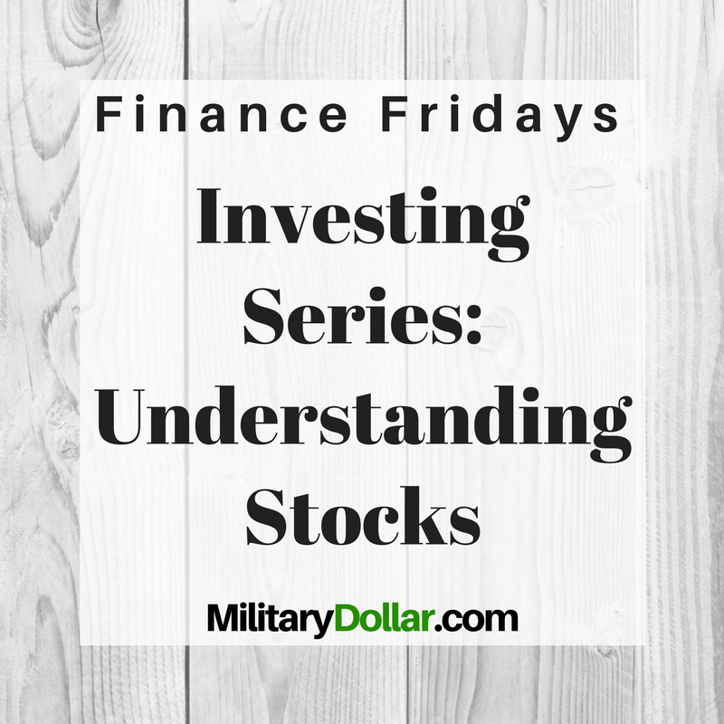 I am starting a series on investing. First up: the basic building blocks of market investing. The first two weeks will cover stocks and bonds, as those concepts will be referred to throughout the series.