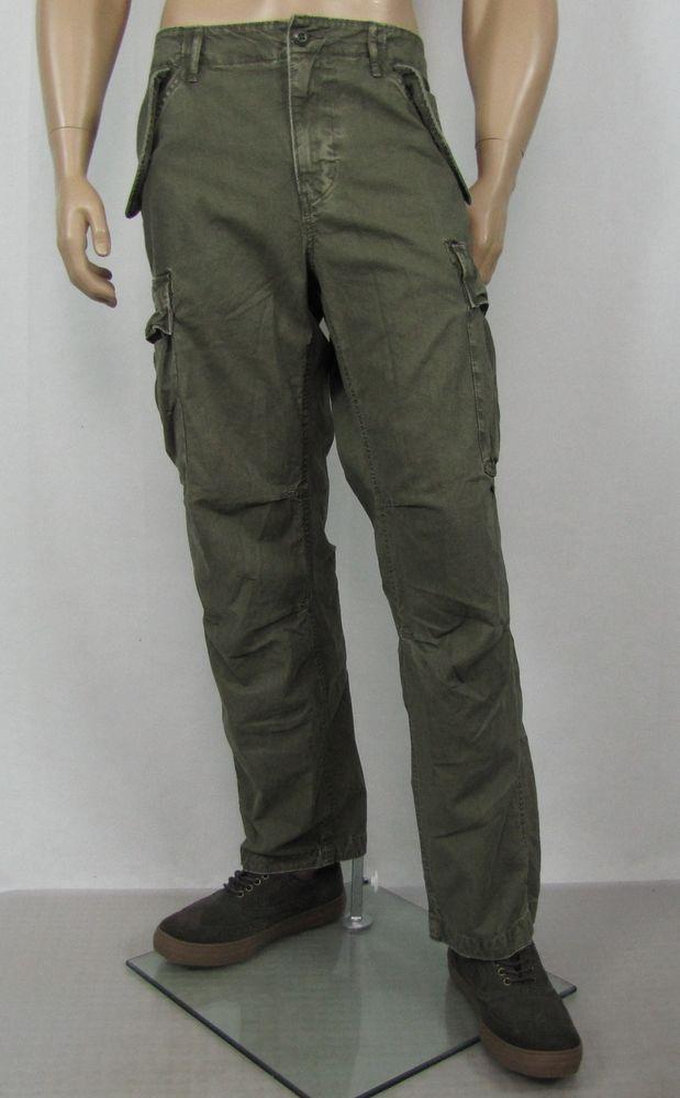 ff1005d4b1 Denim Supply Ralph Lauren cargo pants men's military slim pants size 36/32  NEW #DenimSupplyRalphLauren #Cargo 52.99