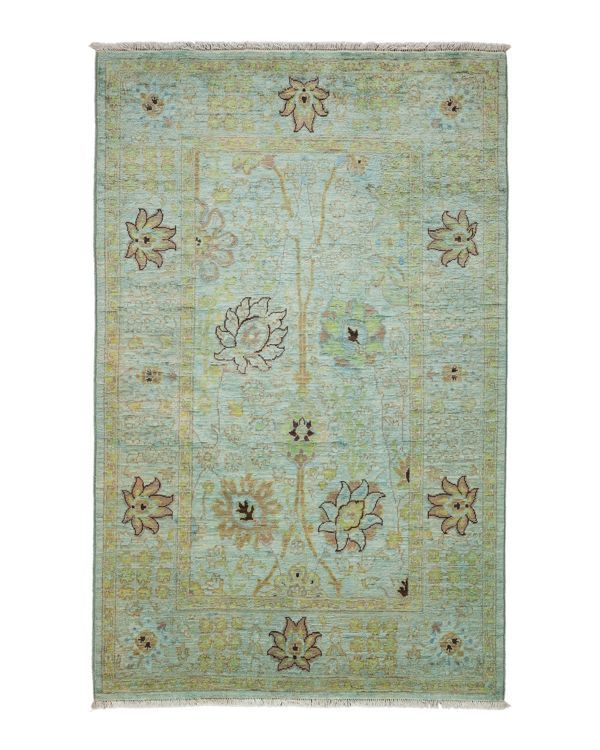 """Vibrance Collection Oriental Rug, 4'1"""" x 6'5"""""""