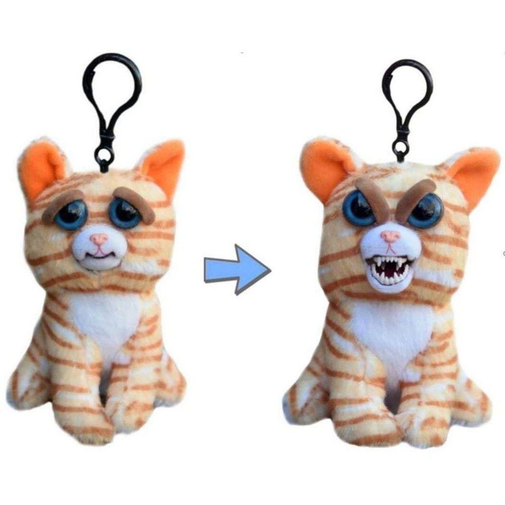 Feisty Pets Princess Pottymouth Cat Plush Key Chain Cat Plush Animal Plush Toys Animated Animals