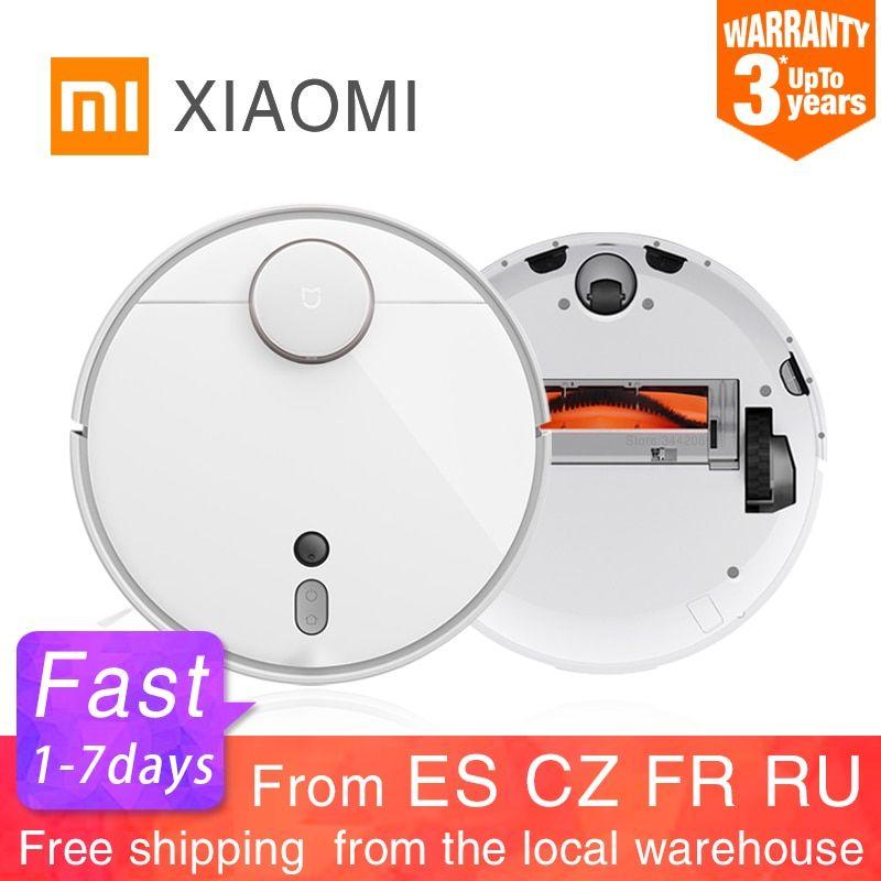Xiaomi Mi Robot Vacuum Cleaner 1s For Home Automatic Sweep Dust Sterilize Roborock Smart Planned Mijia App Rem Robot Vacuum Cleaner Robot Vacuum Vacuum Cleaner