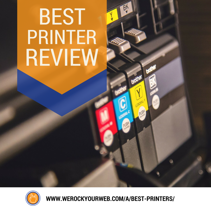 Best Printers By Type: Epson vs HP vs Canon vs Brother | Office Tips