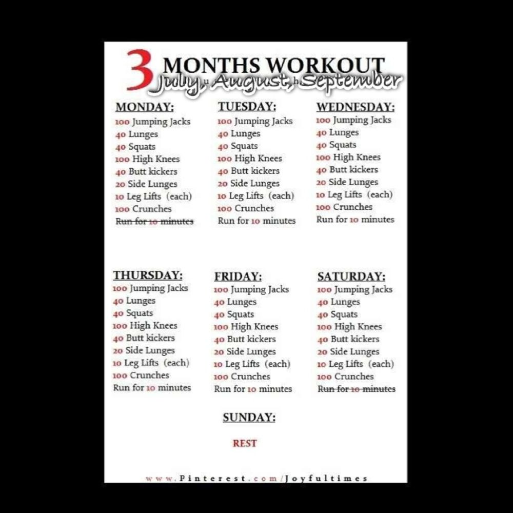 Best 25 3 Month Workout Ideas On Pinterest Arm Fat Arm