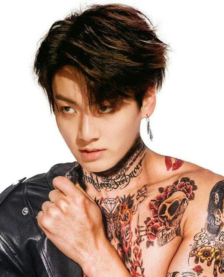 Taekook Tattoo: Pin By JeonSophia On JungKooK