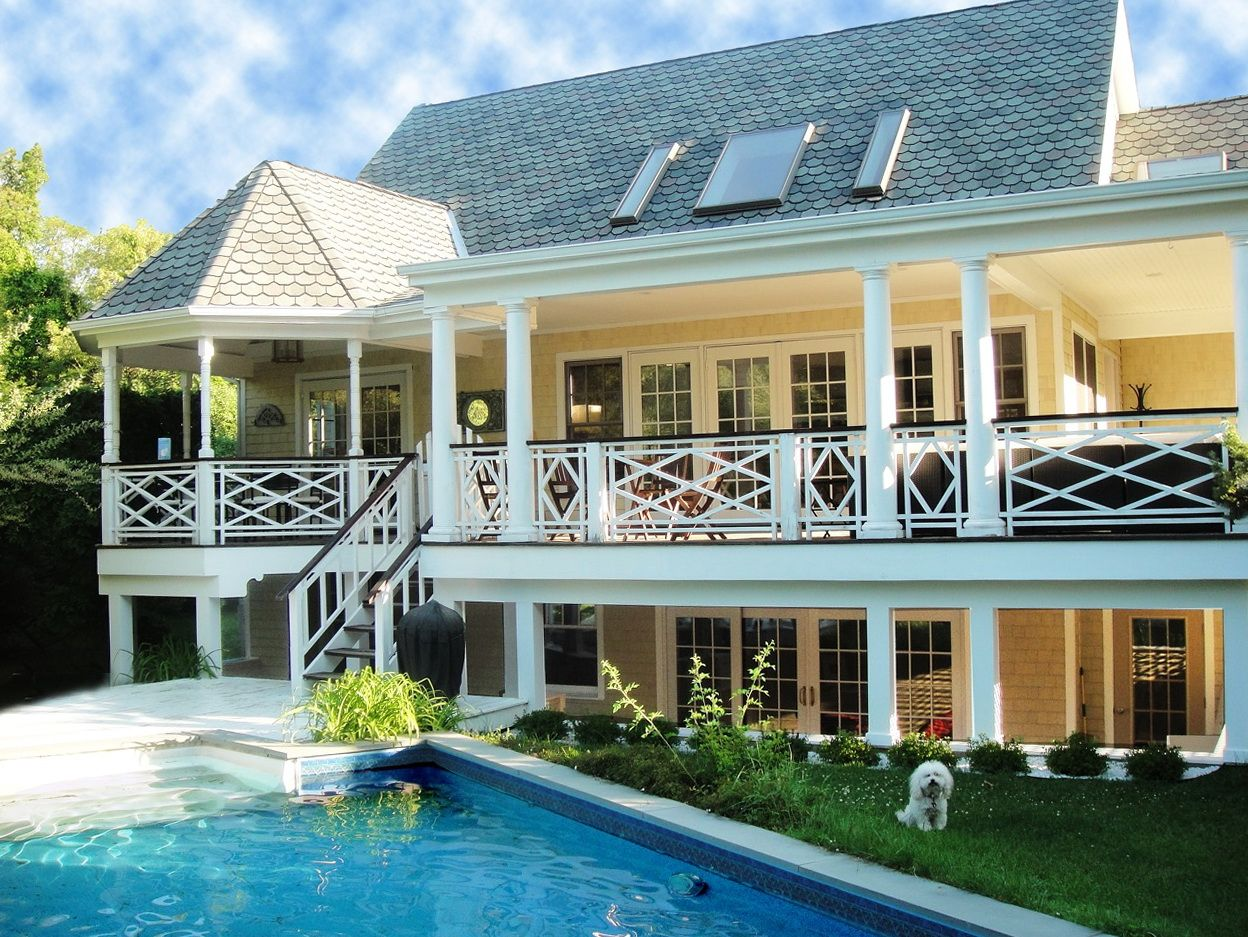 Two Story Farmhouse With Wrap Around Porch Yahoo Image Search Results Porch House Plans Rustic House Plans Simple House Plans