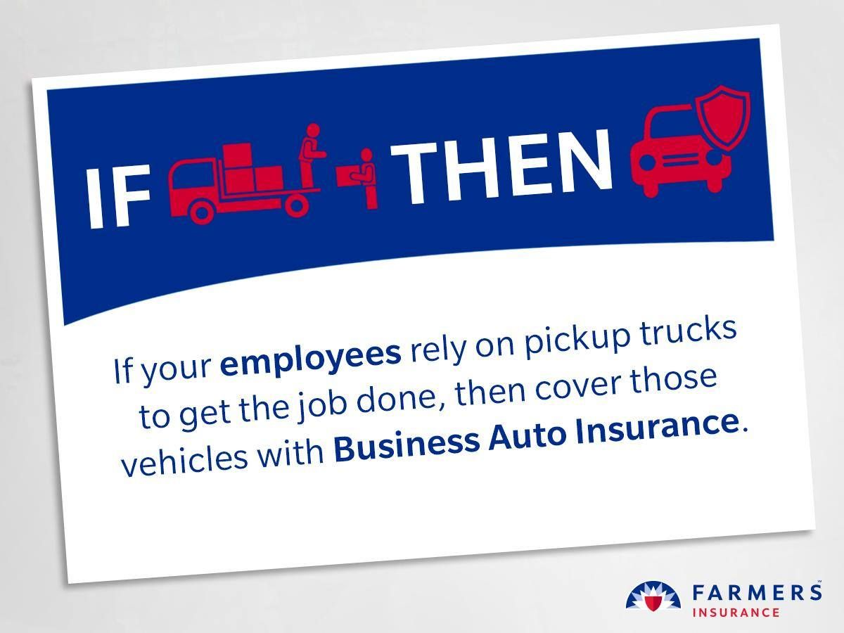 Lets discuss business auto insurance for your company