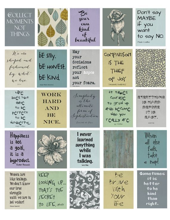 Life Quotes Life Planner Printable 1.5