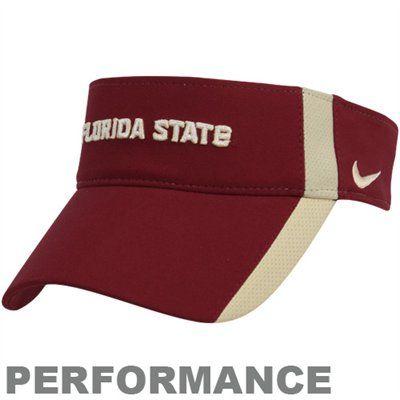 best service 2729b 6fed4 Nike Florida State Seminoles (FSU) Ladies Performance Featherlight  Adjustable Hat - Garnet